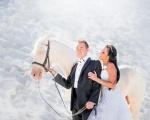 Sesja poślubna końska ;)